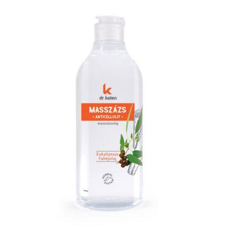 Dr.Kelen - Anticellulit masszázsolaj - narancsbőr, stria ellen - 500 ml