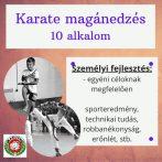 Magán karate edzés (10 alkalom)