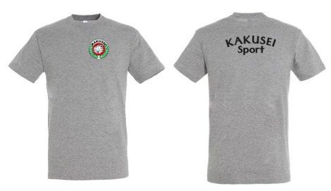 KAKUSEI Sport póló - szürke (gyerek)