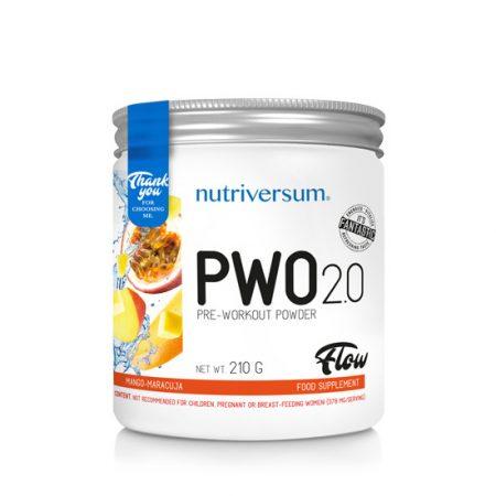 PWO 2.0 - 210g - FLOW - Nutriversum
