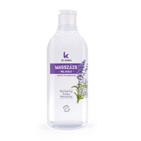 Dr.Kelen - Relaxáló masszázsolaj - 500 ml