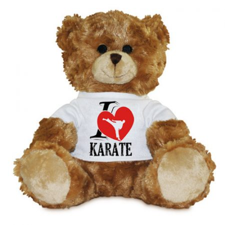 I <3 Karate Plüss Maci