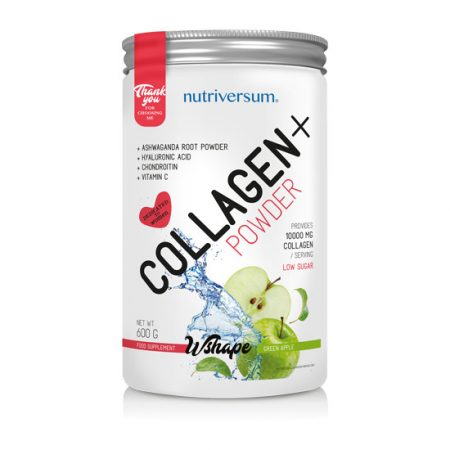 Collagen+ - 600 g - WSHAPE - Nutriversum