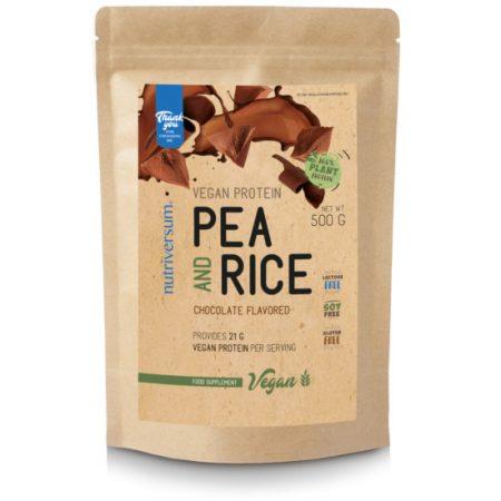 Pea & Rice Vegan Protein - 500g - VEGAN - Nutriversum