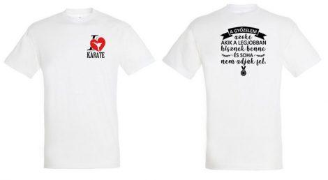 I <3 Karate Póló (Gyerek/Felnőtt)