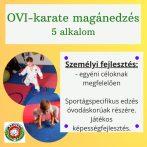 OVI-karate magánedzés - 5 alkalom