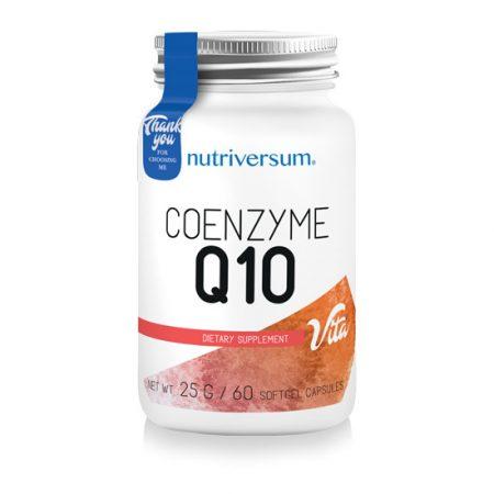 Coenzyme Q10 - 60 kapszula - VITA - Nutriversum