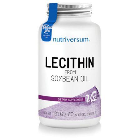 Lecithin - 60 kapszula - VITA - Nutriversum