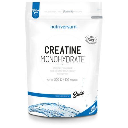 Creatine Monohydrate - 500g - BASIC - Nutriversum