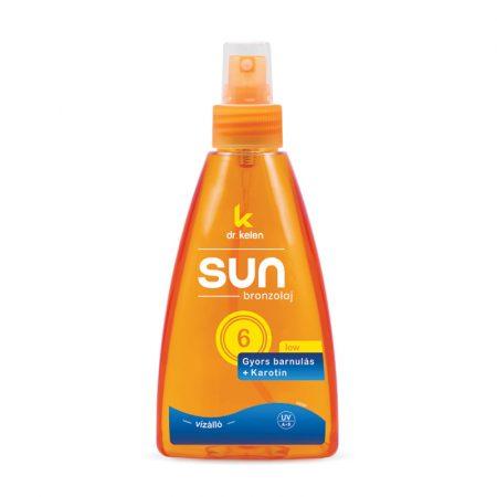 Sun F6 - Bronzolaj - pumpás - 150 ml