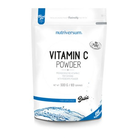 C-vitamin Powder - 500 g - BASIC - Nutriversum
