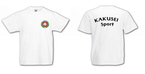 KAKUSEI Sport póló - (fehér) gyerek