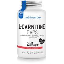 L-Carnitine caps - 120 kapszula - WSHAPE - Nutriversum