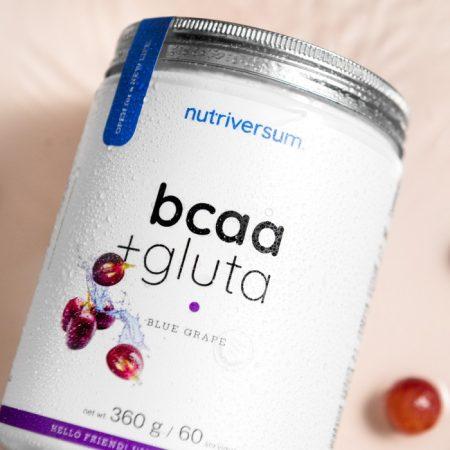 BCAA+GLUTA - 360 g - FLOW - Nutriversum