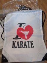 I <3 Karate Tornazsák